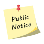 Click Me to Access Public Notices
